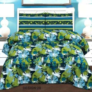 3PC BED SHEET-DES-28