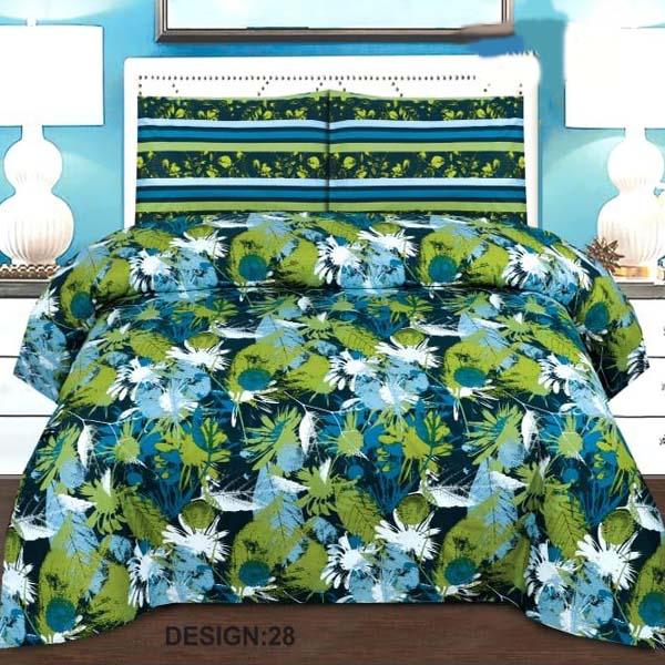 2PC Single BED SHEET-DES-011