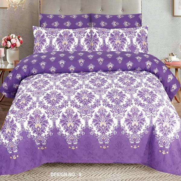 3PC BED SHEET-DES-9
