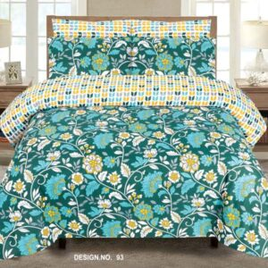 3PC BED SHEET-DES-93