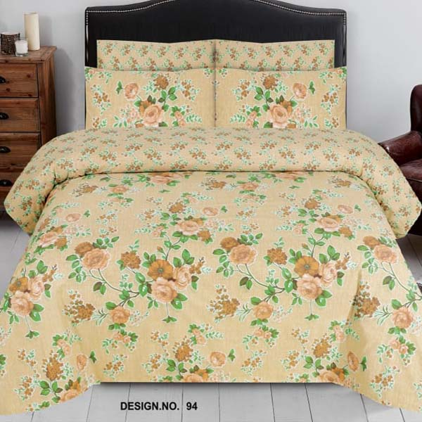 3PC BED SHEET-DES-94