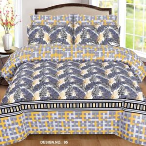 3PC BED SHEET-DES-95