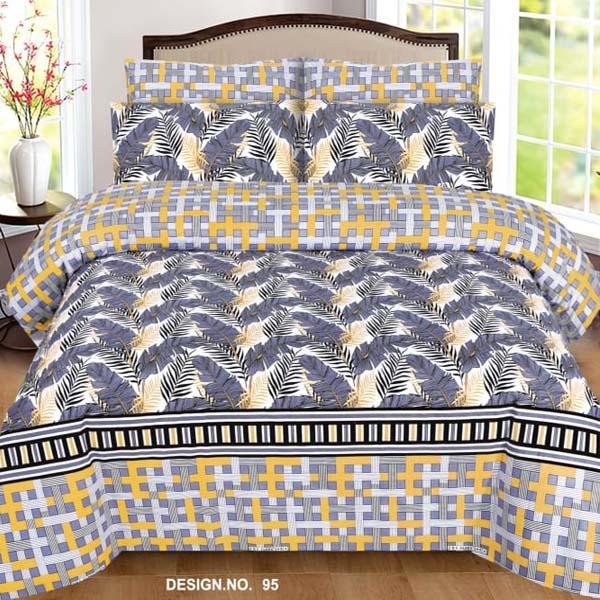 3PC BED SHEET-DES-95