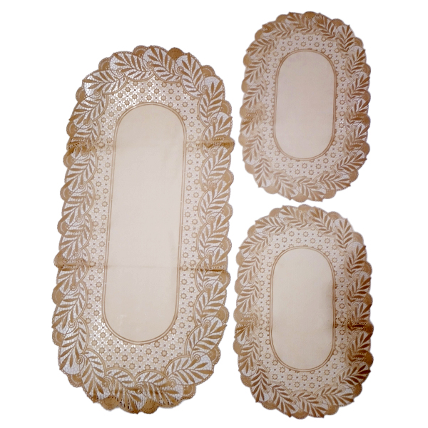 Dressing Table and Side Table Mats 3 pcs DM-05