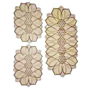 Dressing Table and Side Table Mats 3 pcs DM-06