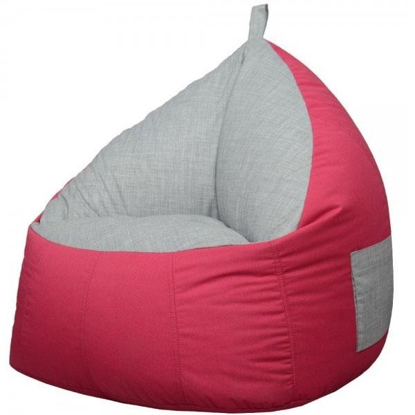 FABRIC BEAN BAG SOFA CHAIR pink