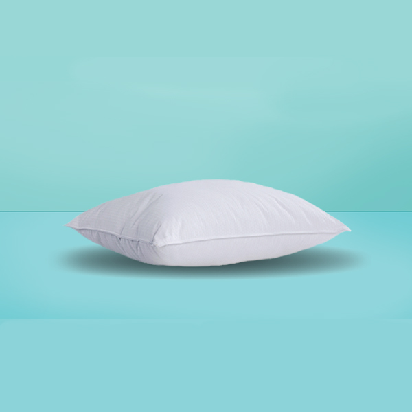 Single White Pillow (Ball Fiber )