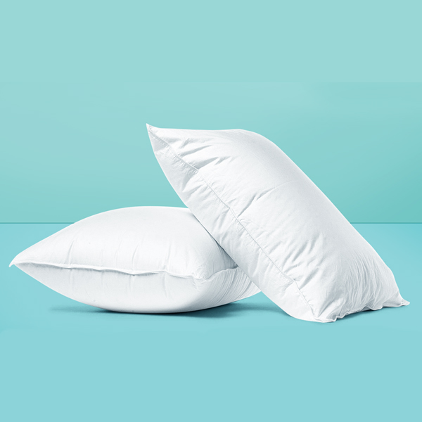 White Pillow Pack of 2 (Ball Fiber )