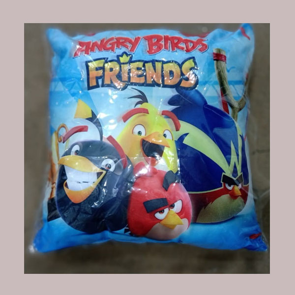 angry birds friends cushion
