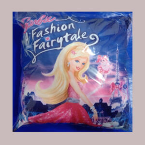 barbie cushion cover