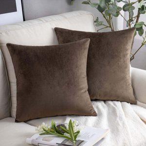 cushion cover brown