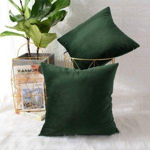 cushion cover green