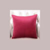 cushion cover plain pink