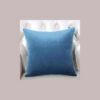 cushion plain light blue