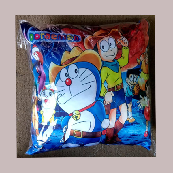 doraemon cushion cover