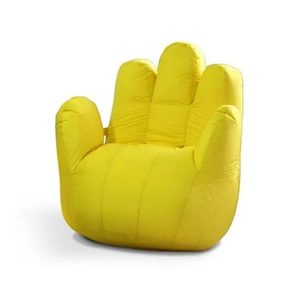 hand shape bean bag pakistab
