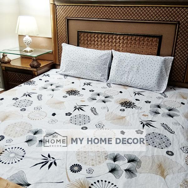 3PC Cotton Bed Sheet – B0014
