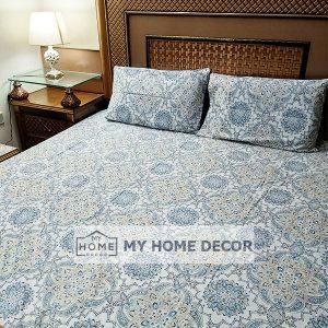 3PC Cotton Bed Sheet – B0015