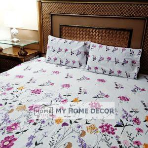 3PC Cotton Bed Sheet – B019