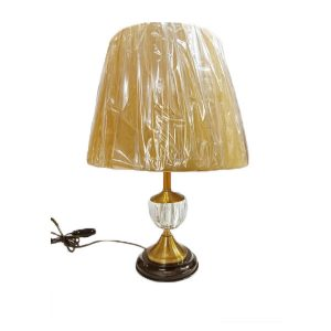 Crystal Decorative Golden Table Lamp For Bedroom