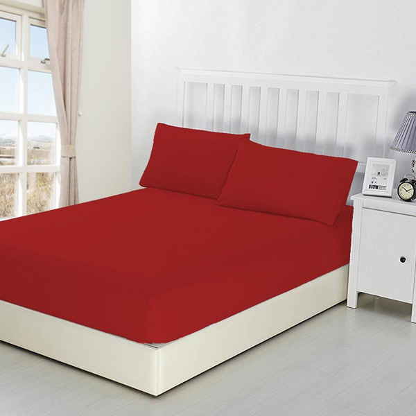 Fitted bed sheet fabric