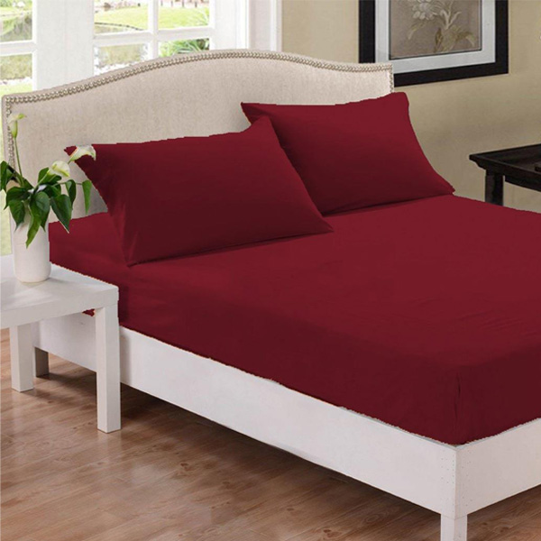 Fitted bedsheet fabric