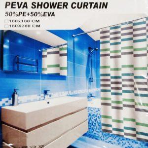PEVA Waterproof Shower Curtain Bathroom WSC-04