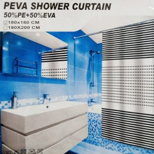 PEVA Waterproof Shower Curtain Bathroom WSC-06-