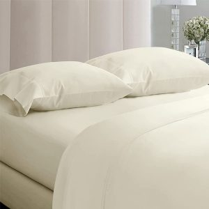 RICH-COTTON-FITTED-SHEET- IVORY