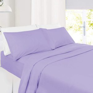 RICH-COTTON-FITTED-SHEET- LAVENDER