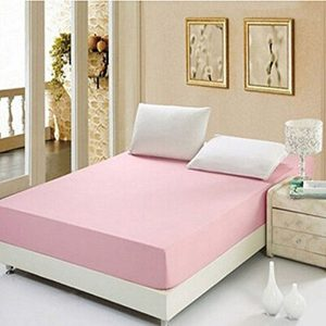 RICH-COTTON-FITTED-SHEET- LIGHT PINK