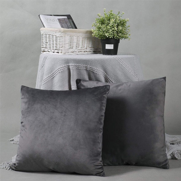 cushion cover charcoal