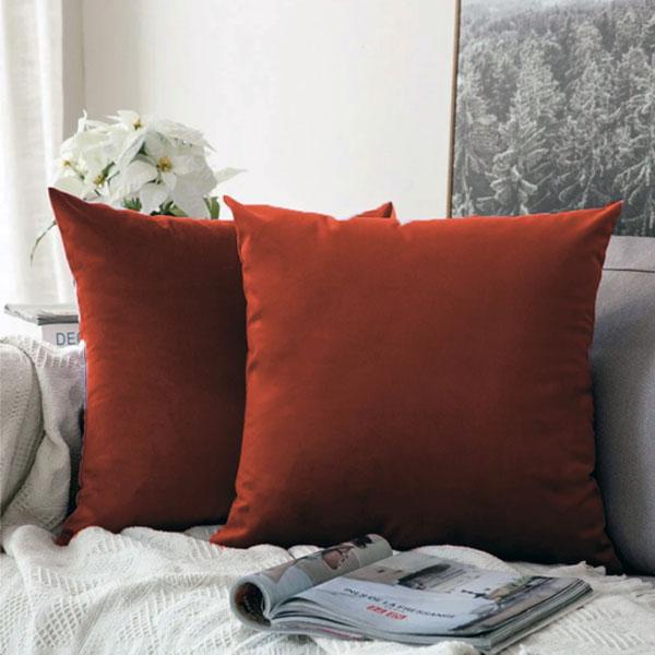 cushion cover copper
