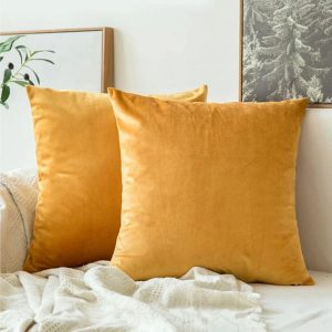 cushion cover golden